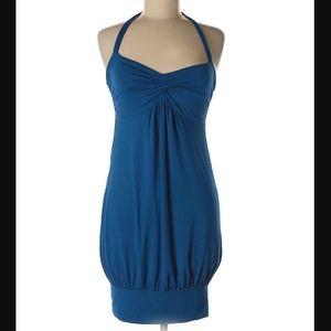 "Victoria's Secret blue ""bra top"" dress  sz. S"